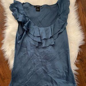 🍒 blue blouse